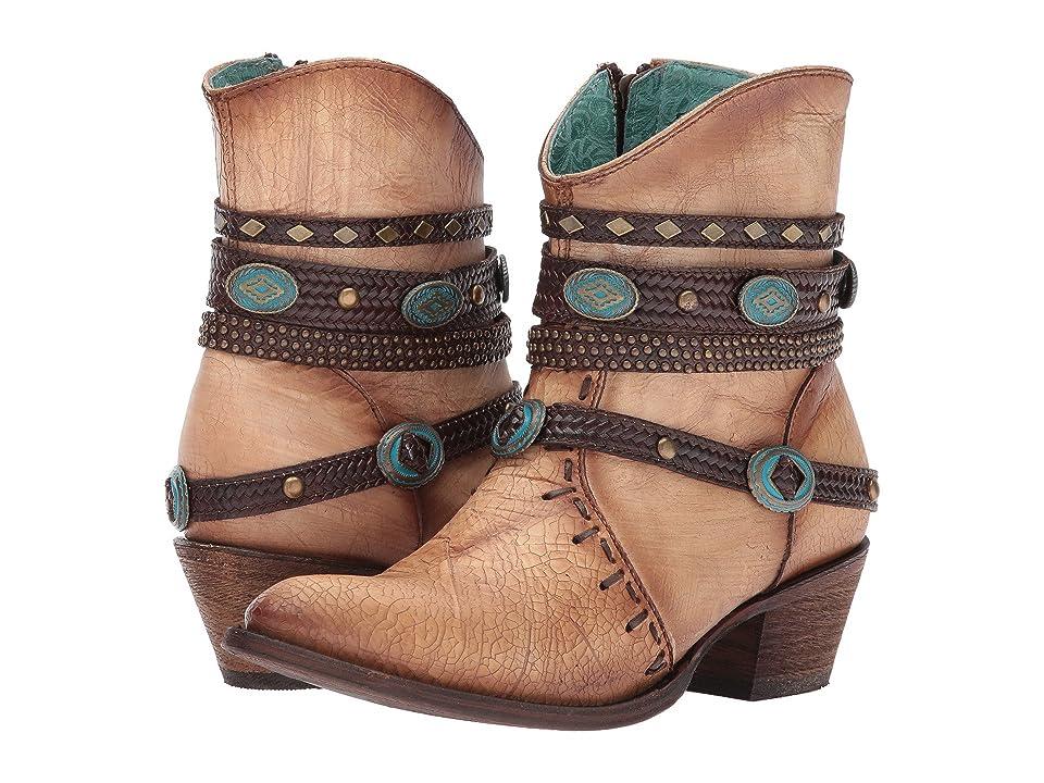Corral Boots C3195 (Bone) Cowboy Boots