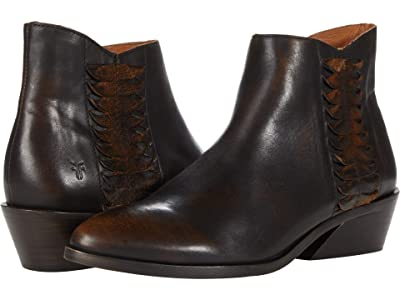 Frye Farrah Feather Bootie (Bronze Brush-Off Veg Tan) Women