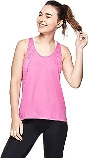 Nike Women's Run Tank, Silver(Active Fuchsia/Reflective Silv623), X-Large