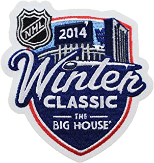 2014 Winter Classic Big House Authentic Jersey Patch - Red Wings vs Maple Leafs