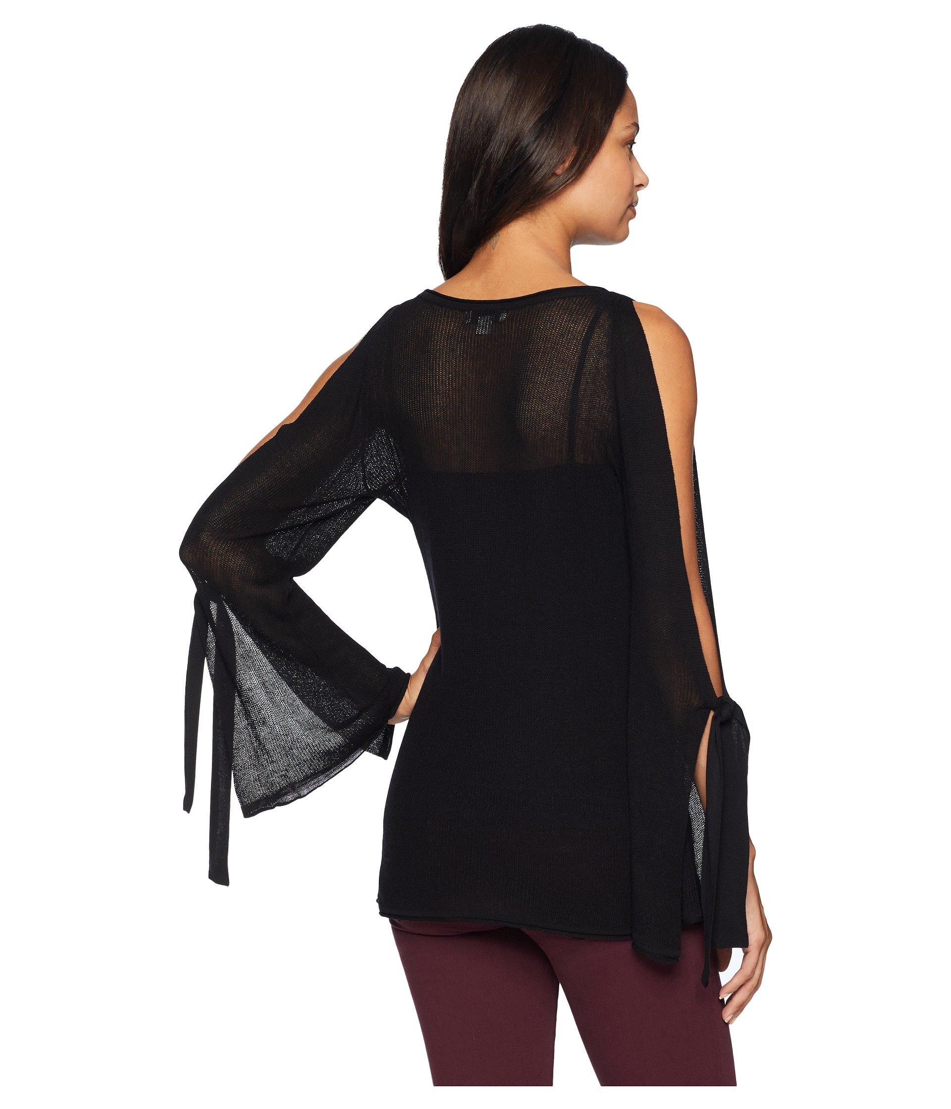 Sweater Black Ks8k5635 Viscose Kensie Textured wqx8AvaZg