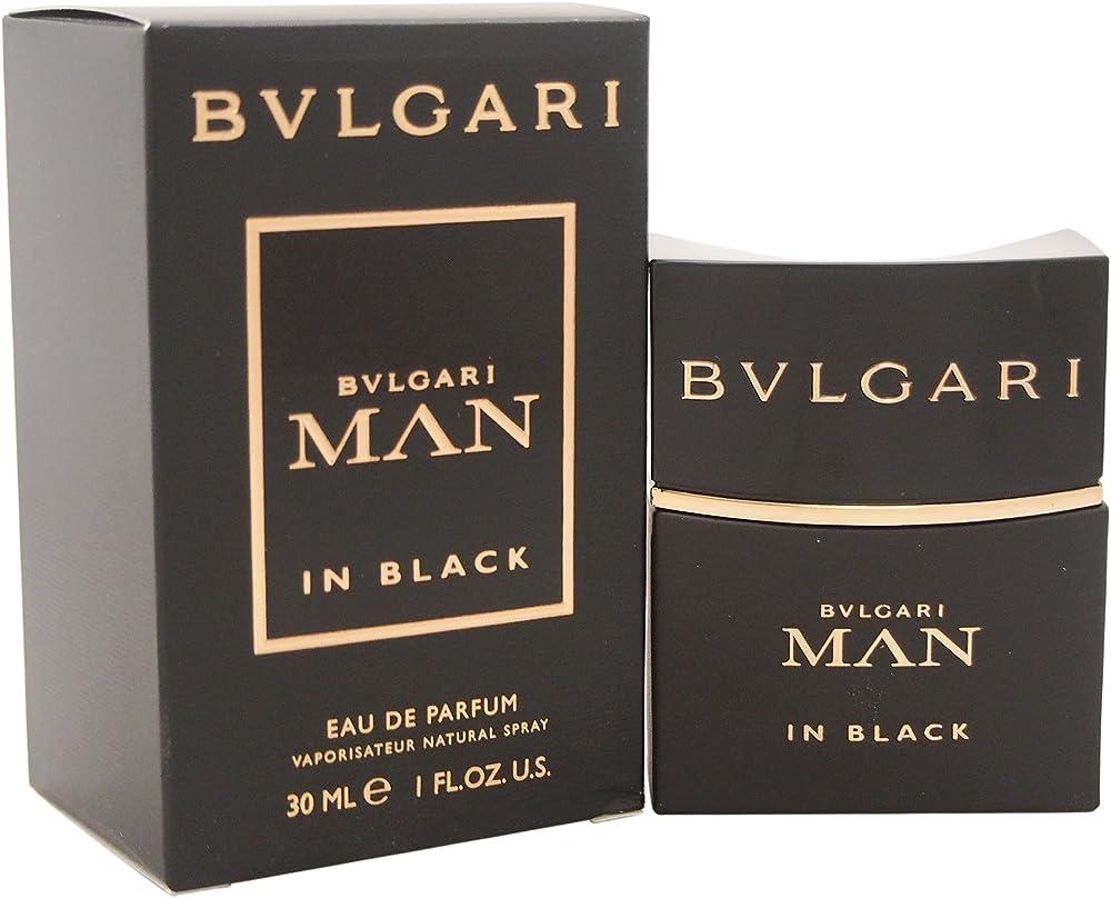 Bvlgari man in black, eau de parfum, profumo per uomo, 30 ml BUL740