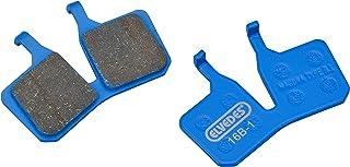 Elvedes 1 副有机套装刹车片Velo/MTB/电动自行车/路线适用于Magura MT5/7 UNISEX 成人,蓝色