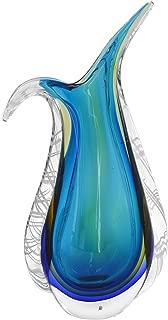 Best blue blown glass vase Reviews