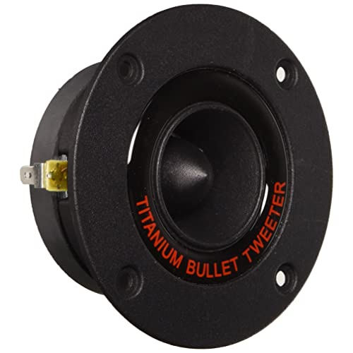 "2x 2/"" 150W Titanium Compression Bullet Horn Tweeter 8 Ohm Cadence XT20"
