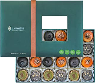 Laumière Gourmet Fruits - Superfood Parfait Collection - Healthy Gift Basket - Dried Fruit Gift Basket with Super Food - N...