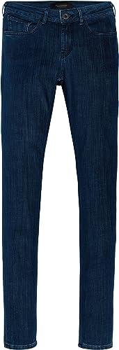 Scotch & Soda Damen La Bohemienne - Soft Indigo Slim Jeans