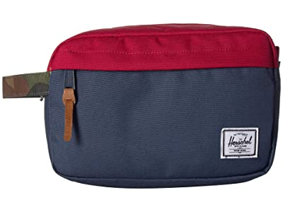 Herschel Supply Co. Chapter (Navy/Red/Woodland Camo) Toiletries Case