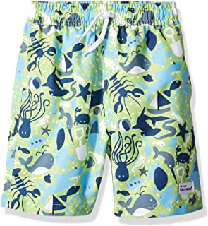Flap Happy Boys' Baby UPF 50 Swim Trunk with Mesh Liner