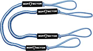 Extreme Max 3006.2765 BoatTector Bungee Dock Line Value 2-Pack-6', Blue/White