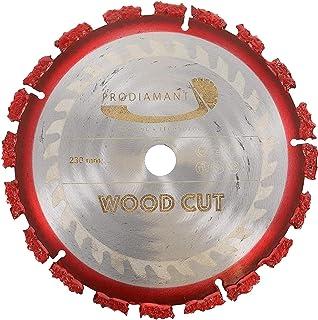 PRODIAMANT Professionell kapskiva trädrot WOOD CUT 230 mm x 22,2 mm hårdmetallskiva