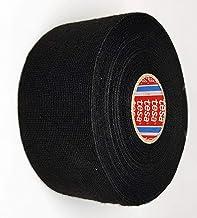 TESA 51608-00025-00 weefseltape PET-vlies 51608 isolatietape voor kabelbomen katoen plakband (50 mm x 25 m), zwart