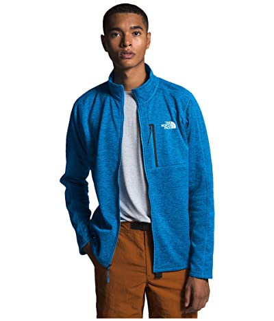 The North Face Canyonlands Full Zip (Clear Lake Blue Heather) Men