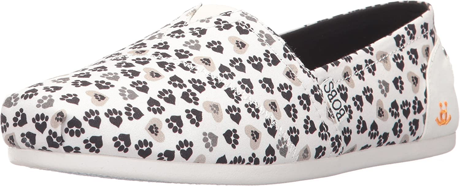 Skechers Womens Bobs Plush - Finger Paint Flat