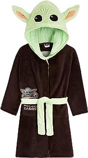 Star Wars Baby Yoda Kids Dressing Gown, The Mandalorian The Child Boys Robe