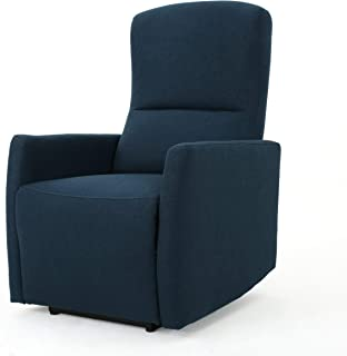 Christopher Knight Home Bailey Power Recliner, Blue