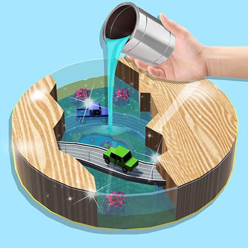 Satisfying Repair Art! Noodle Repair & Epoxy resin