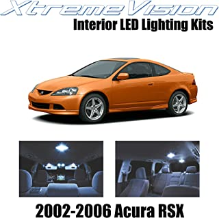 XtremeVision Interior LED for Acura RSX 2002-2006 (10 Pieces) Cool White Interior LED Kit + Installation Tool