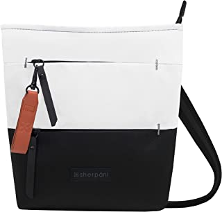 Sadie Crossbody and Shoulder bag for Women made from Recycled Nylon fabric with RFID protection (Birch)