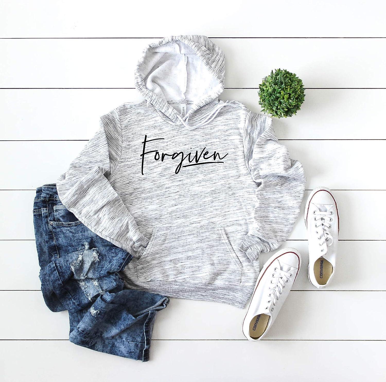 Forgiven Hooded Max 65% OFF Sweatshirt Regular discount Hoodie Christian