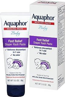 Aquaphor Baby Diaper Rash Paste, 3.5 Ounce (Pack of 3) (Packaging May Vary)