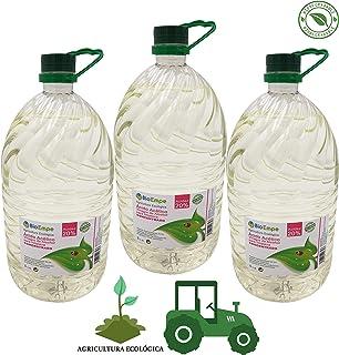 Herbicida Ecológico a Base de Vinagre Concentrado de Alcohol de Cereal al 20%. Caja de 3 garrafas de 5L