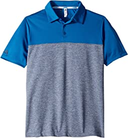 Heathered Color Blocked Polo (Little Kids/Big Kids)