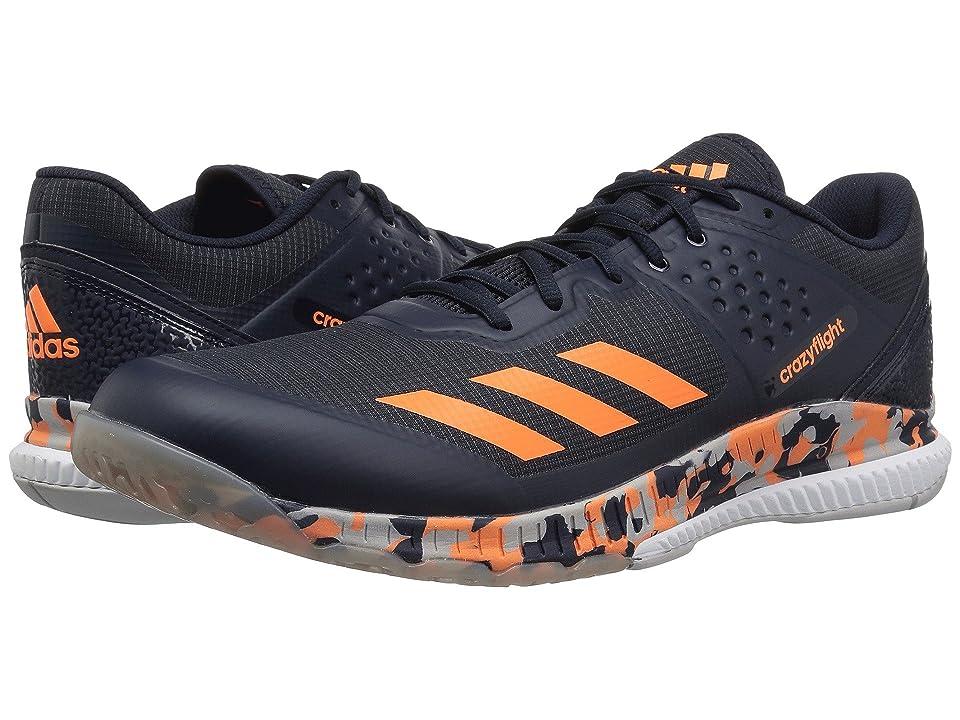 adidas Crazyflight Bounce (Legend Ink/Hi-Res Orange/Grey Two) Men