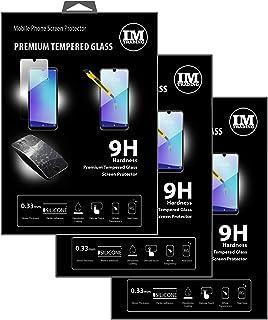 cofi1453 3X pansarskydd glas 9H härdat glas display skydd folie display glas skärmskydd kompatibel med ZTE Blade A5 2020