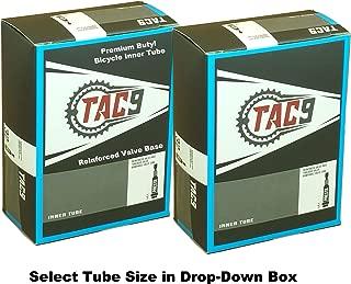 TAC 9 2 Pack Tube, 700 x 28-35 (27 x 1-1/8-1-1/4