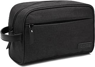 Dopp Kit Mens Toiletry Bag Travel Bathroom Bag Shaving Shower Cosmetic Organizer Black