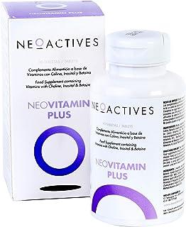 NeoVitamin Plus | Suplemento con cantidades equilibradas y altamente biodisponibles | Vitamina A Vitamina D3 Vitamina E Vitamina K2 Vitamina C Vitaminas B Ácido fólico. biotina. colina | 90 Capsulas