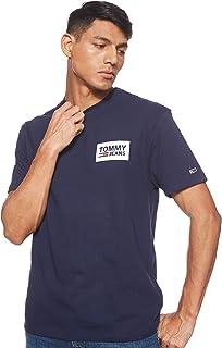 Tommy Jeans Men's Tjm Back Multilogos T-Shirt