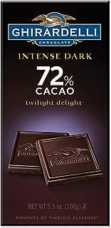 Ghirardelli Chocolate Intense 72% CacaoBars - 3.5 oz - 6 pk