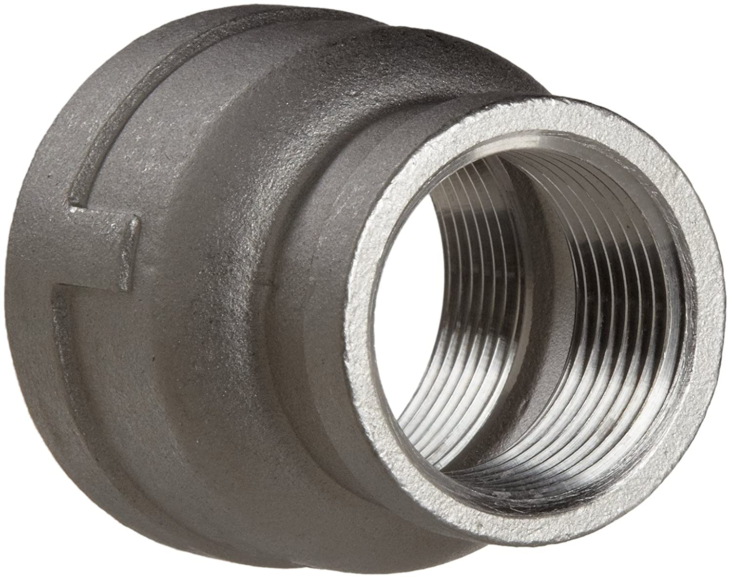 Reducing Coupling DN32DN25 Stainless Steel 304 Cast Pipe Fitting 1 X 1//2 NPT Female Class 150