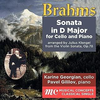 brahms cello sonata d major