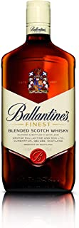 Ballantines Finest Blended Scotch Whisky – Milder Blend aus schottischen Malt & Grain Whiskys – Mit zartem Geschmack, ausgereiftem Aroma & frischem Abgang – 1 x 1 L