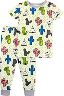 Lamaze - Pijama orgánica para bebés y niños, 2 Piezas