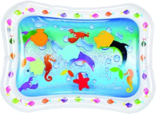 Hoovy Tummy Time Water Mat Baby Water Play Mat, Fill �N Fun Water Play Mat for Children and Infants, Fun Colorful, Play Mat Baby