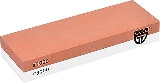 GRÄWE Wetzstein Körnung 1000/3000 - Kombi-Schleifstein aus Korund