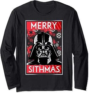 Star Wars Vader Merry Sithmas Christmas Long Sleeve Tee