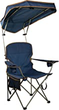 folding chair with umbrella holder