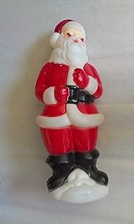 Vintage 1973 Carolina Enterprises Santa Claus Blow Mold