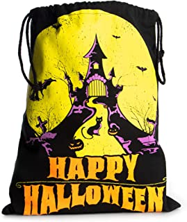 10 QT Halloween Trick or Treat Bucket wHandlesWhite with Caldron /& Witches Feet Many Designs to Choose From