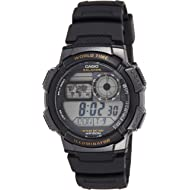 Men's AE-1000W-1AVCF Resin Sport Watch with Black Band