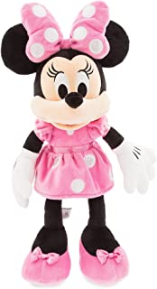 Disney ディズニー Minnie Mouse Plush ミニーマウス ぬいぐるみ ピンク 中サイズ 18インチ 46cm 2018 [並行輸入品]