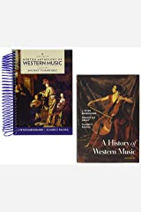 A History of Western Music, 10e with media access registration card + Norton Anthology of Western Music, 8e Volume 1 Spiral-bound