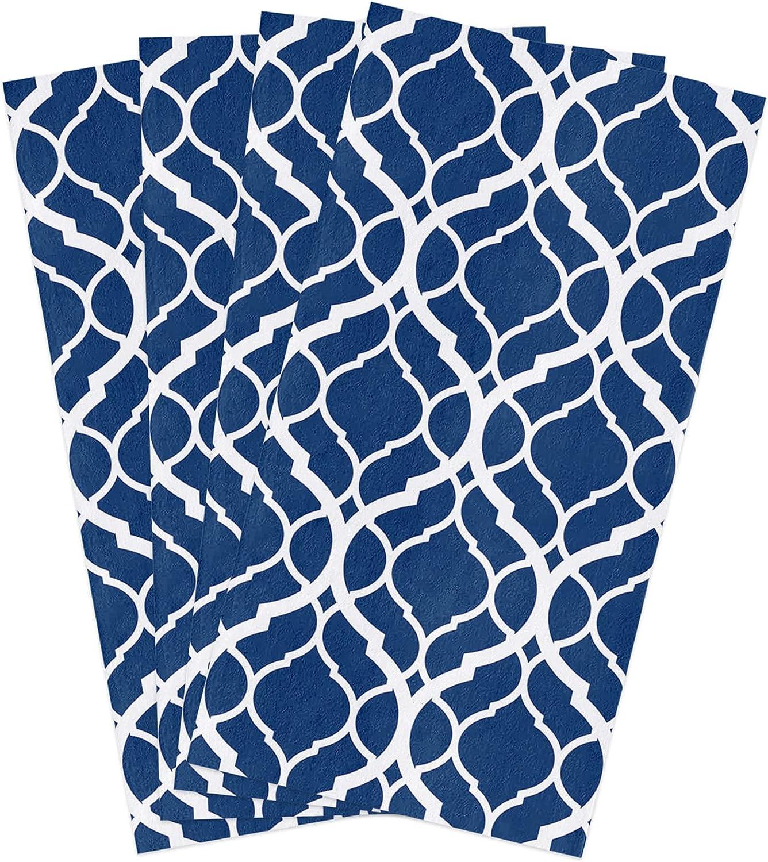 GladiDroom 4 Branded goods Atlanta Mall Pack Absorbent Kitchen Dish Geometric Towels Modern