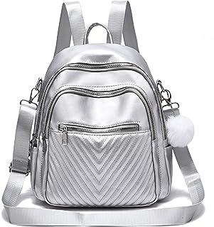 Damen Rucksack Geldbörse klein süß Leder Rucksack Casual Satchel Schultertasche für Mädchen