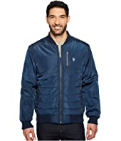 U.S. POLO ASSN. - Quilted Bomber Jacket